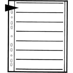 KAISER Negativ-Ablageblätter - Pergamin für Kleinbild 6er Streifen