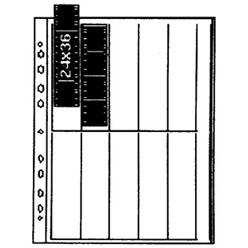 Kaiser Negativhüllen – Pergamin für Kleinbild 4er Streifen