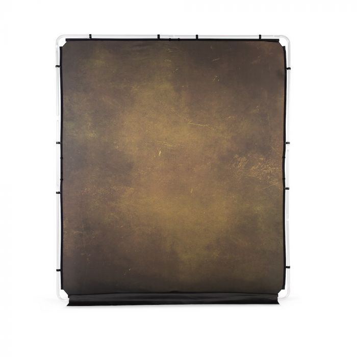 Lastolite EzyFrame Vintage Hintergrund 2 x 2,3m, Olive