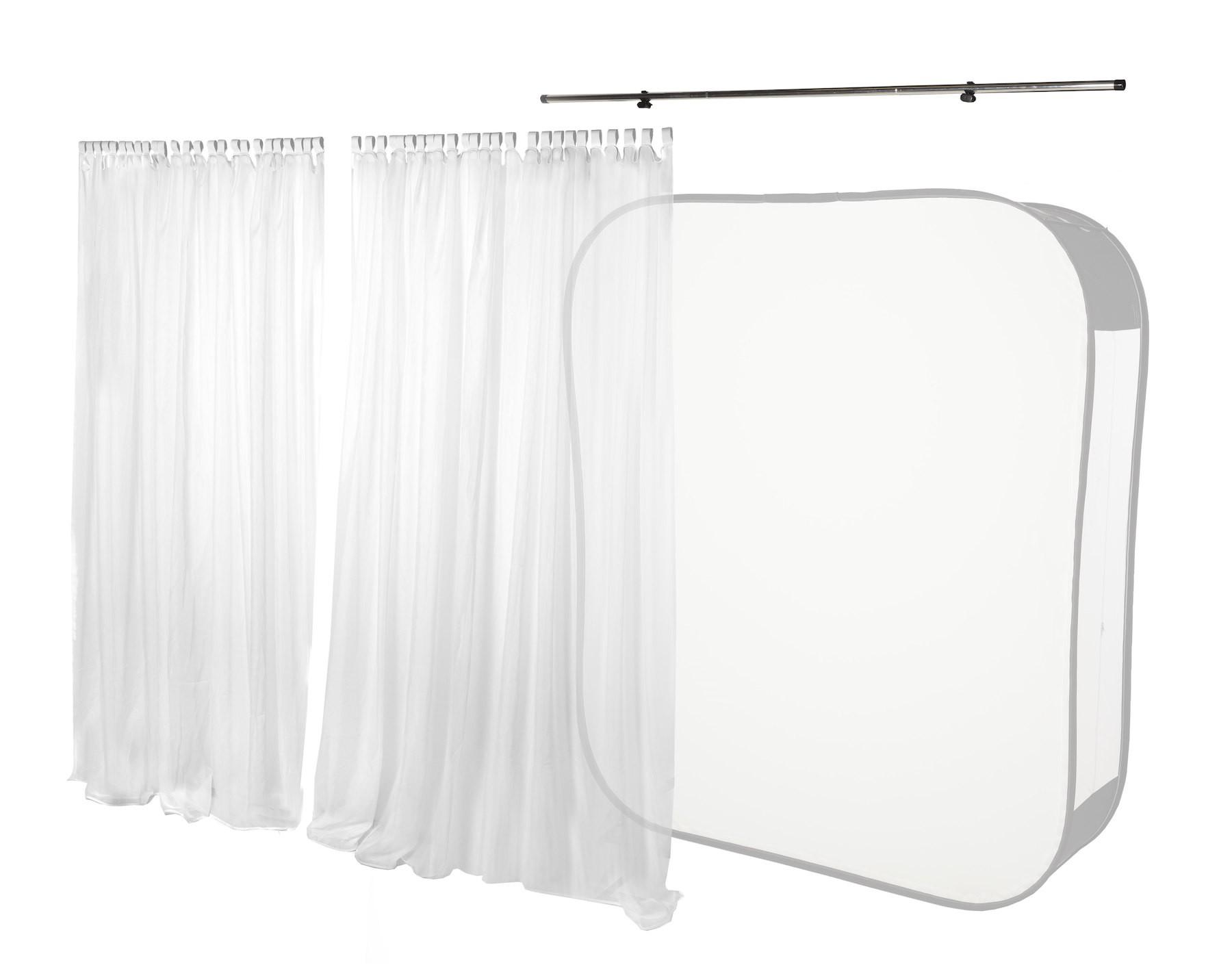 Lastolite Window Voile Vorhang-Set für HiLite 1,8 x 2,15m (LL LB8969)