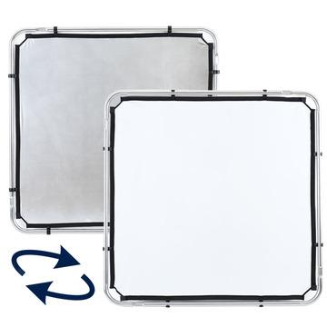 Lastolite Skylite Rapid Bespannung small 1,1 x 1,1m silber/weiß