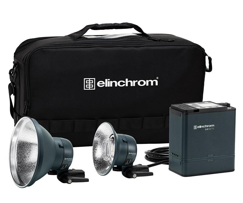 Elinchrom ELB 500 TTL - DUAL To Go Set, 500 Ws