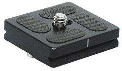 Tiltall QR-40 Schnellwechselplatte für Kugelkopf BH-07 und BH-10