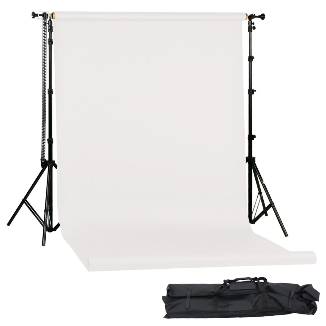 Mobiles Hintergrundkarton Set Arctic Weiß 1,35x11m
