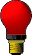 DUKA-Glühlampe rot, E27