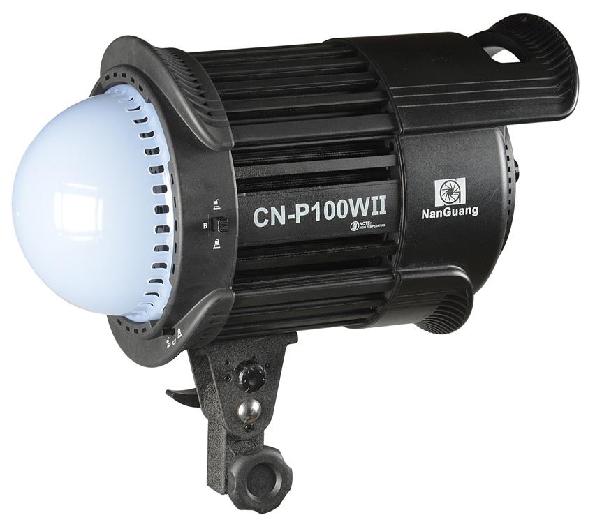 NanGuang LED-Studioleuchte CN-P100 WII, 100 W, 5600 K mit Helligkeitsregler