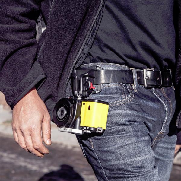 Spider Holster Black Widow - Kamera-Tragesystem für leichte DSLR oder Systemkameras