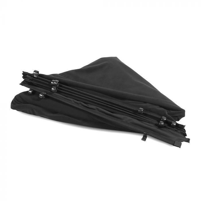Lastolite Skylite Rapid Bespannung XL 3 x 3m schwarzer Velours LL LR83302