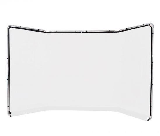 Lastolite Panorama Hintergrundsystem 4 x 2,3m, weiß