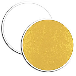 Photoflex LiteDisc Flächenreflektor weiß/gold 132cm