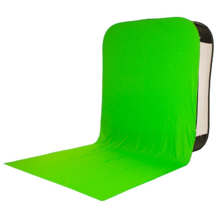 Lastolite Bottletop Bespannung mit Bodenschleppe für HiLite LL8867 – Greenbox grün