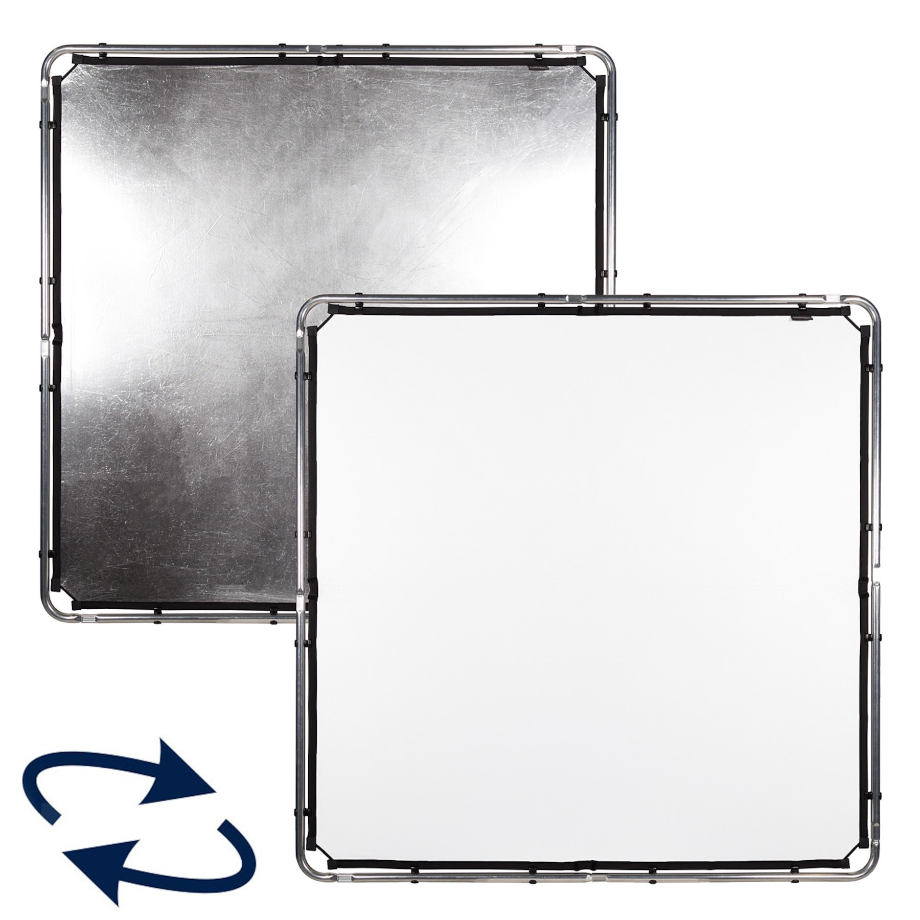Lastolite SkyRapid Bespannung midi 1,5 x 1,5m silber / weiß