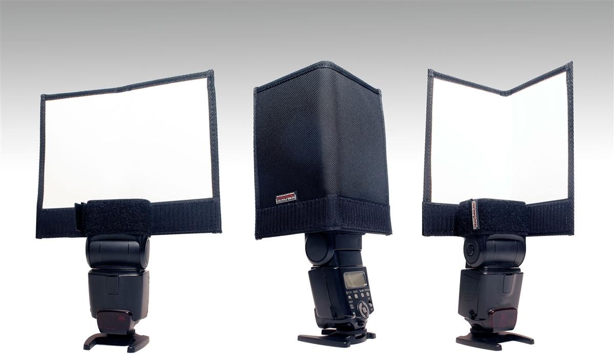 HONL Photo Double Speed Gobo - Reflektor / Abschatter 23x19 cm, klappbar