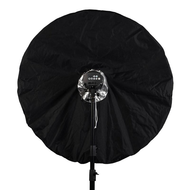 Elinchrom schwarz/silber Abdeckung für den transparenten Studioschirm Deep 105cm