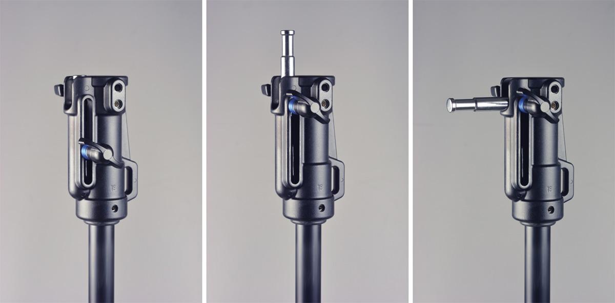 Kaiser Studiostativ mit Rädern, 131-217 cm