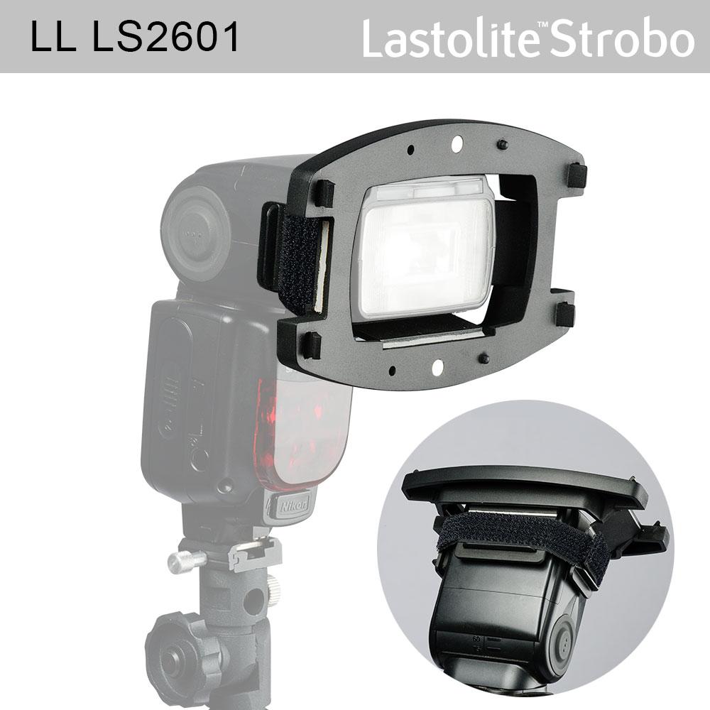 Lastolite Strobo Filter Starter Kit zur direkten Montage am Systemblitzgerät