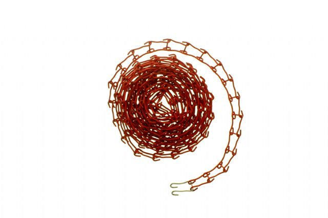 Metallkette rot inkl. Spanngewicht