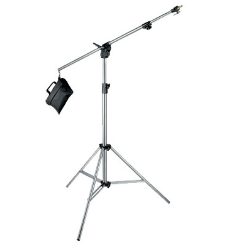 Manfrotto COMBI-BOOM STATIV Heavy Duty 420CSU, Chrome