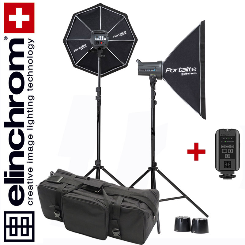 Elinchrom D-LITE RX 4/4 TO GO SET (400/400Ws) - ALL-IN-ONE-BAG Special-Edition