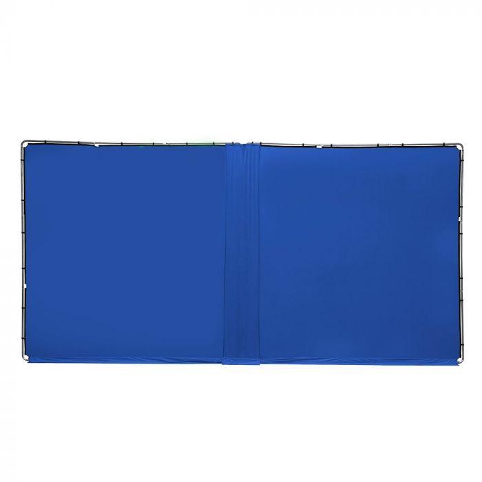 Lastolite Verbindungskit für 2 StudioLink Chroma Key Kits, Bluebox blau, 3m