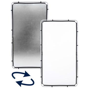Lastolite Skylite Rapid Bespannung medium 1,1 x 2,0m silber/weiß