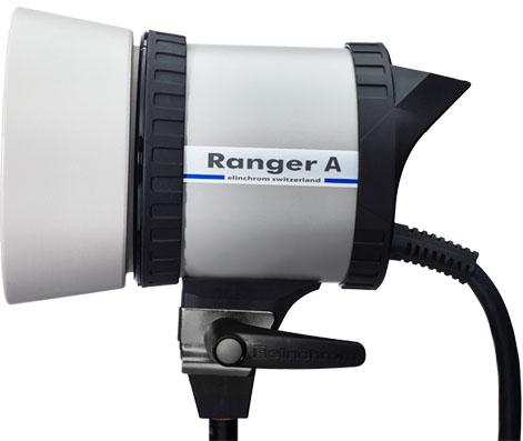 Elinchrom Ranger A Lampenkopf - ACTIONFREEZE - für extrem kurze Blitzdauer!