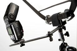 Lastolite TriGrip Halterung, 360° neigbar, inkl. Blitzschiene