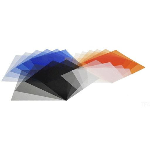 Elinchrom Farb-Korrekturfilterset 19x20cm (20 Filter)