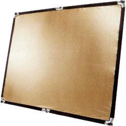 POP-UP Flächenreflektor 150x200cm gold/weiß