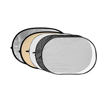 5-in-1 Flächenreflektor 100x150cm