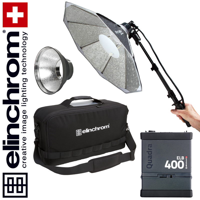 Elinchrom ELB 400 – HI-SYNC To Go Set (LI-ION) BONUS-SET