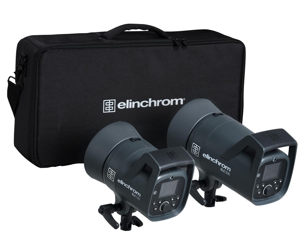 Elinchrom ELC 125/500 TTL Dual To Go Kit