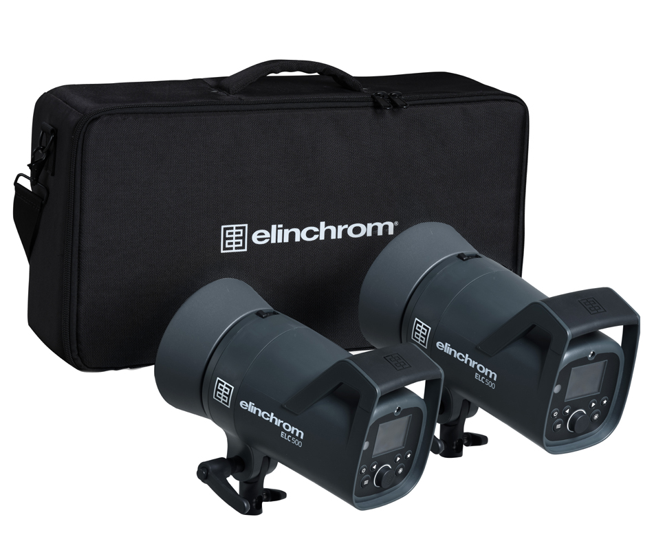 Elinchrom ELC 500/500 TTL Dual To Go Kit