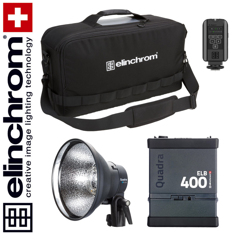 Elinchrom ELB 400 - ACTION To Go Set (LI-ION) --ACTIONFREEZE--