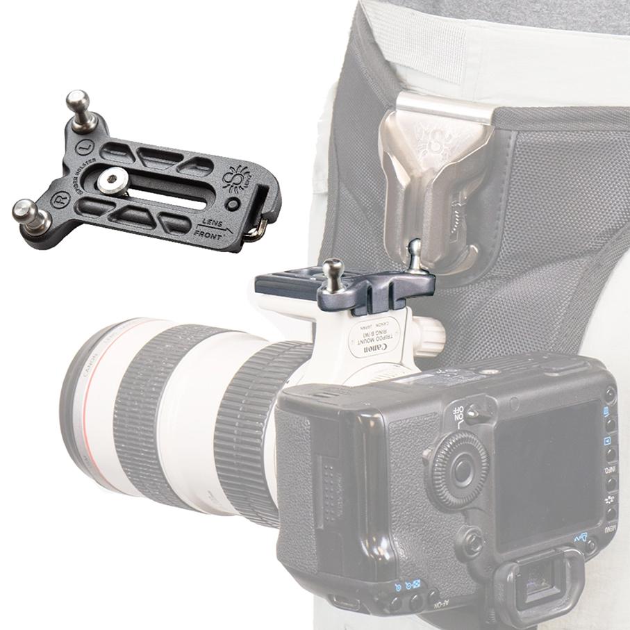 SPIDER PRO Lens Collar v2 Plate Platte inkl. Pin für Objektivschelle Kopie