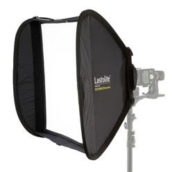 Lastolite Ezybox II Square large 90x90cm - für Systemblitzgeräte, Elinchrom Quadra bzw. Studioblitzg