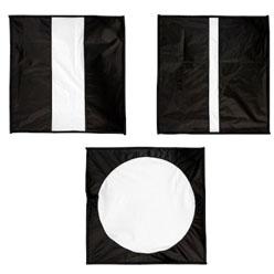 Lastolite Diffusor-Masken 3er-Set für LL2462 Ezybox Hotshoe 54x54cm