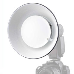 "Mini Softlite-Reflektor ""Beauty Dish"" ø 17cm"
