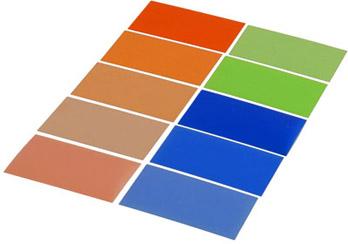 Filterfolien-Set (30 Stück) für Systemblitzgeräte