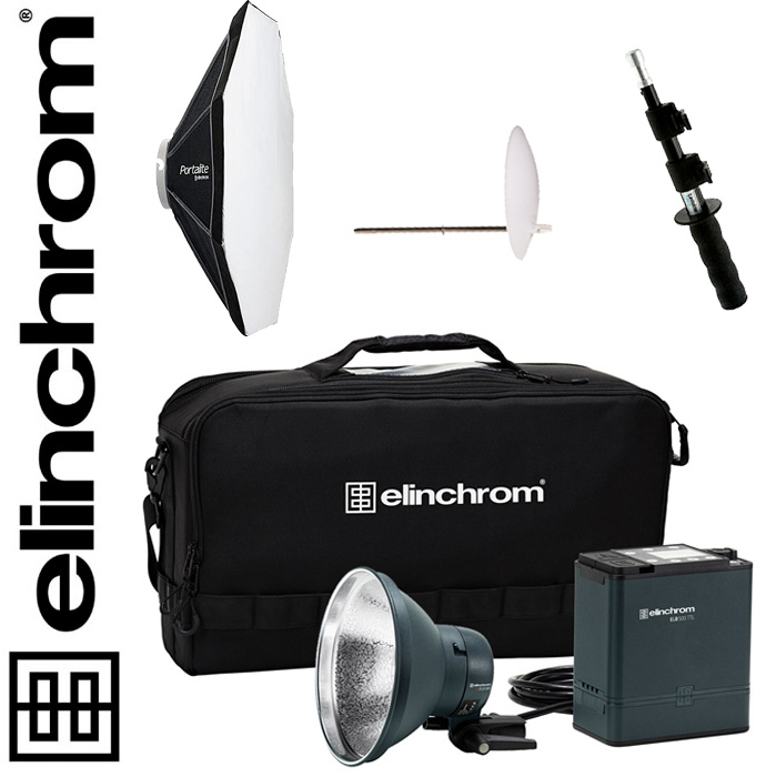 Elinchrom ELB 500 TTL - To Go Set, 500 Ws BONUS-SET