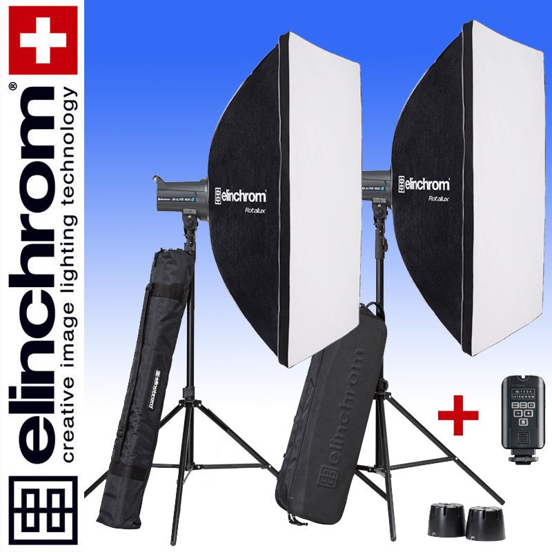 Elinchrom D-LITE RX 4/4 ROTALUX SET 90 x 110cm (400/400Ws)