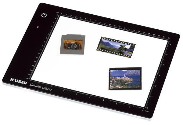 KAISER Leuchtplatte slimlite plano 5000K, nur 8mm dick, Leuchtfläche 22x16cm