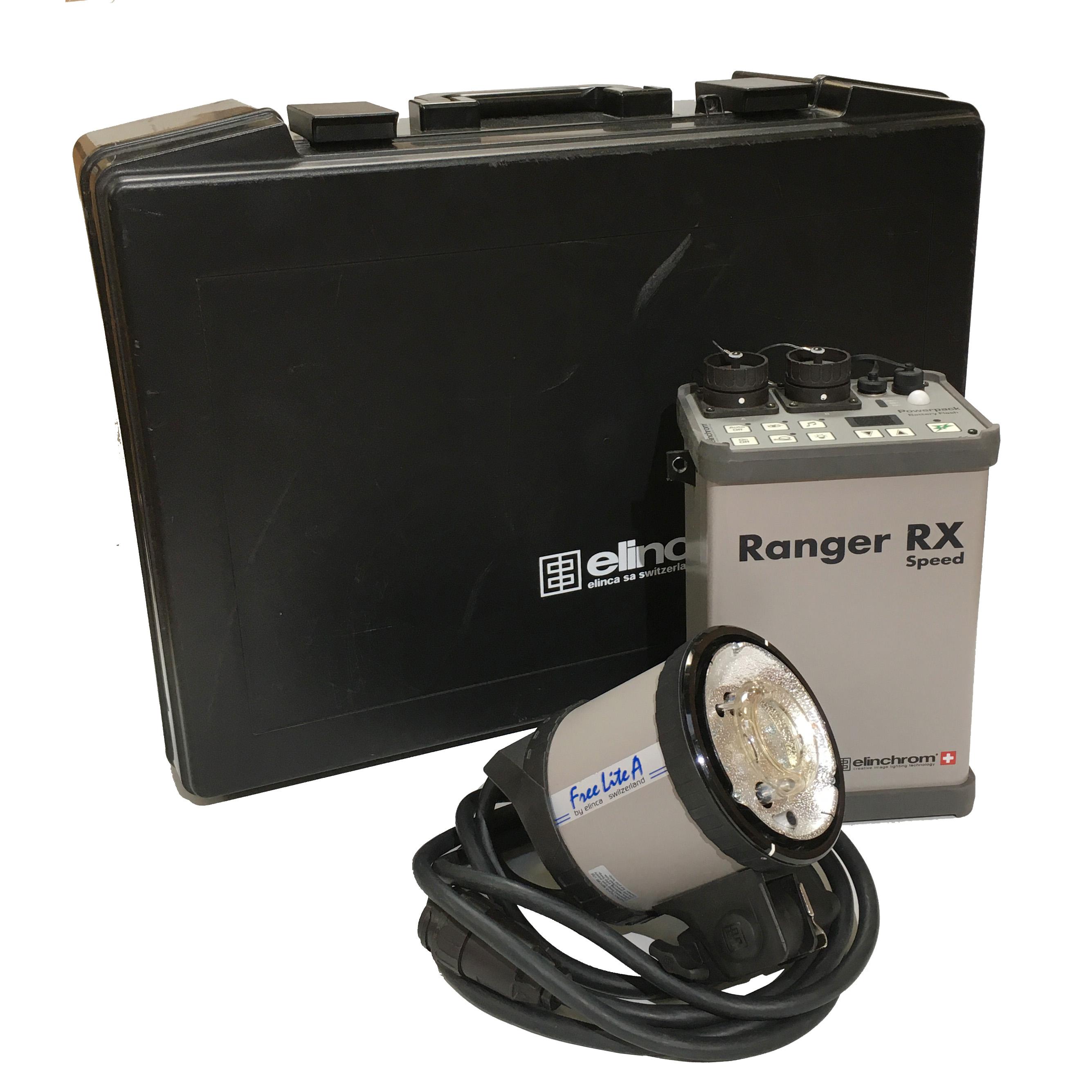 Elinchrom Ranger RX Speed Starter-Set mit Lampenkopf A und Transportkoffer