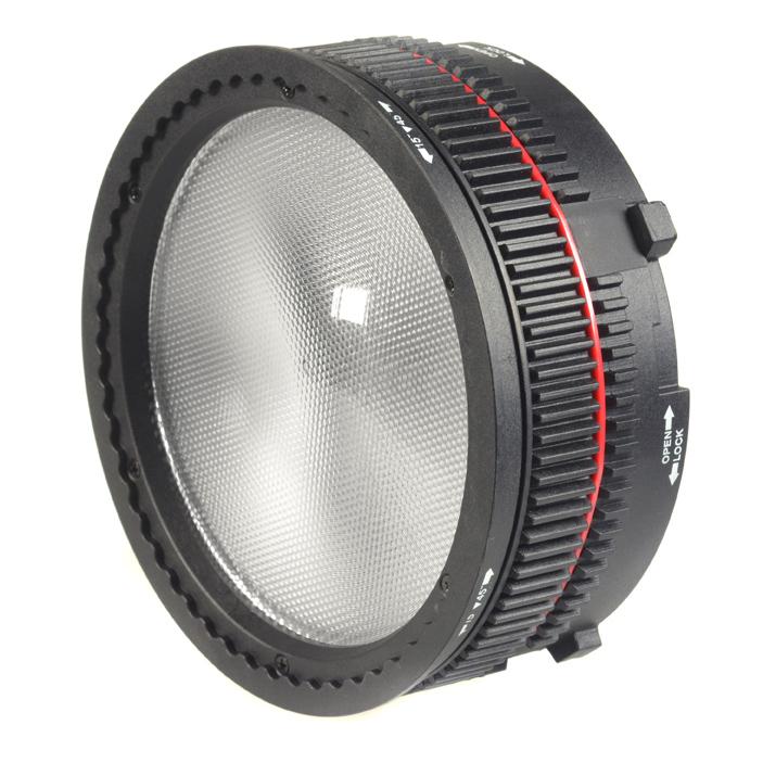 NanGuang Fresnel-Vorsatz mit Vierklappentor, für LED-Studioleuchte P100WII (3670)