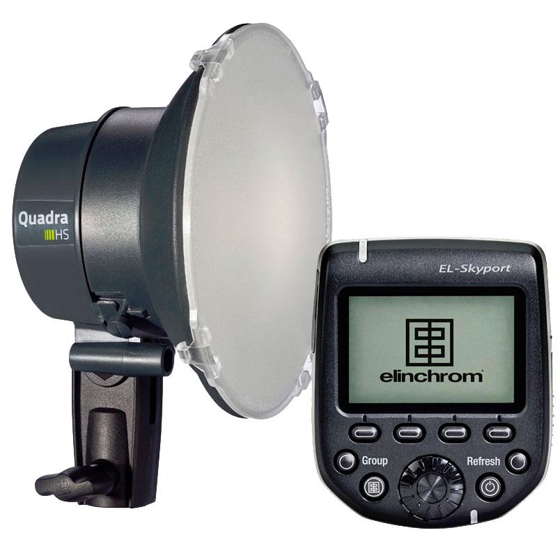 Elinchrom HS Upgrade-Set für Canon Kameras mit Quadra bzw. ELB Akkugeneratoren