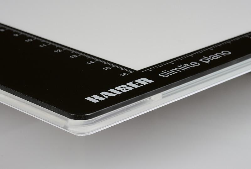 KAISER Leuchtplatte slimlite plano 5000K, nur 8mm dick, Leuchtfläche 42,9x30,9cm