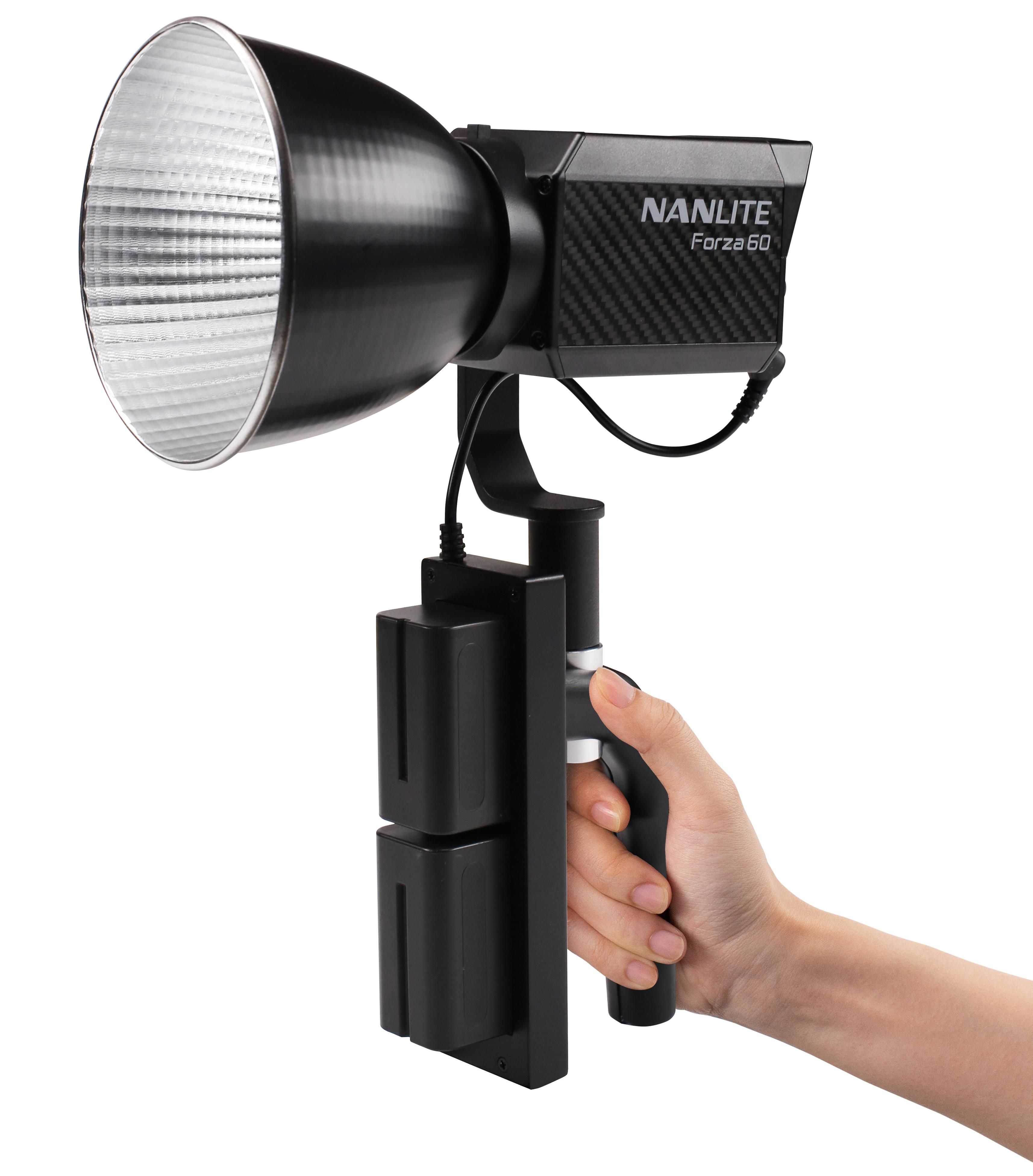 KAISER NANLITE Akku-Handgriff für Forza 60