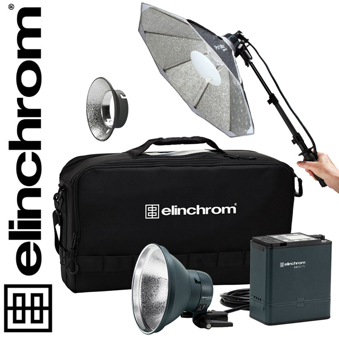 Elinchrom ELB 500 TTL - DUAL To Go Set, 500 Ws BONUS-SET