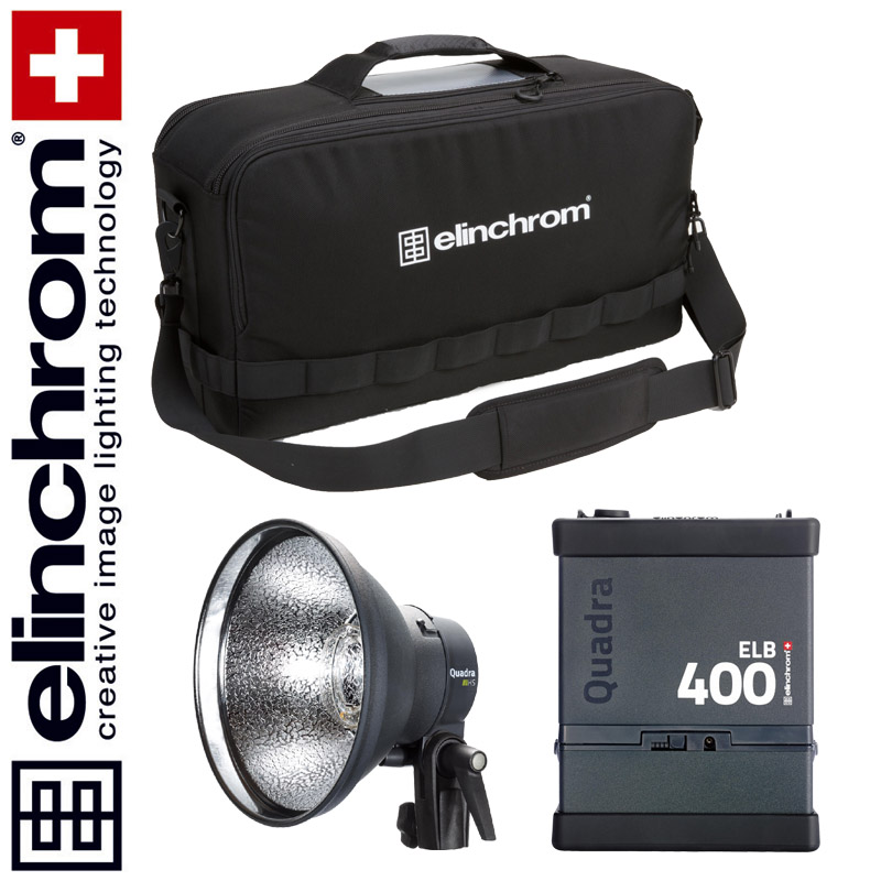 Elinchrom ELB 400 – HI-SYNC To Go Set (LI-ION)