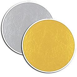Photoflex LiteDisc Flächenreflektor silber/gold